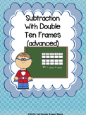 Double Ten Frame - Subtraction (Advanced)