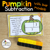 Subtraction with Bar Models within 10 Task Cards