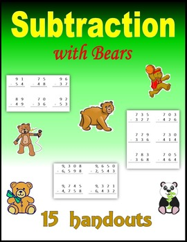 Subtraction (with Bears)
