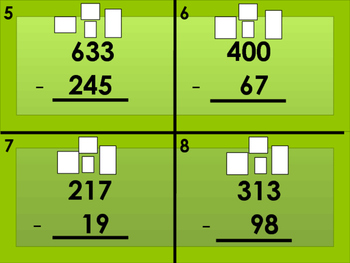 Subtraction with Borrowing Task Cards (28)
