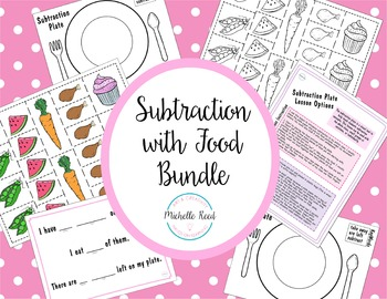 Subtraction with Food Bundle