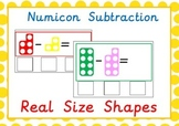 Subtraction with Numicon Like Number Shapes