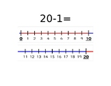 Subtraction with Number line