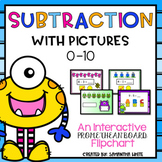 Subtraction with Pictures - Numbers 0-10 - A Promethean Board Flipchart