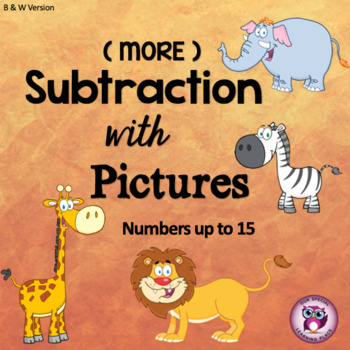 Subtraction with Pictures (Numbers up to 15)
