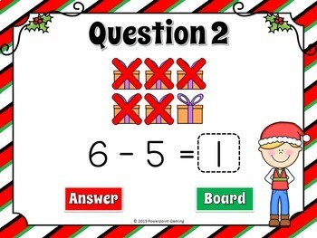Subtraction with Pictures Powerpoint Game