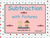 Subtraction with Pictures (within 10):