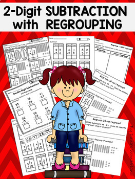 Subtraction with Regrouping Worksheets and Posters