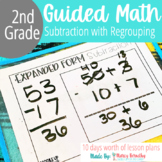 Subtraction with Regrouping: 2 and 3 Digit Numbers