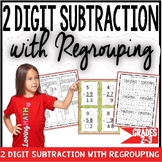 2 Digit Subtraction with Regrouping Games Worksheets and Activities