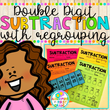 Subtraction with Regrouping {Double Digit}