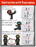 Subtraction with Regrouping {Anchor Chart}