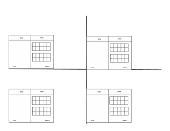 Subtraction with Regrouping (space for base ten drawing)