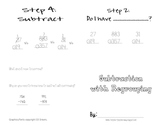 Subtraction with Regrouping Book