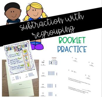 Subtraction with Regrouping Booklet