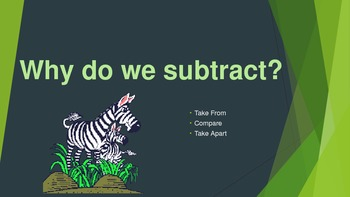 Subtraction with Regrouping- HOW TO PowerPoint