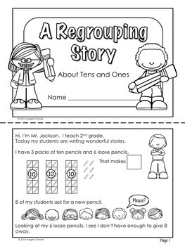 Subtraction with Regrouping  {Intervention, Special Ed}