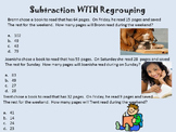 Subtraction with Regrouping Lessons Prompts