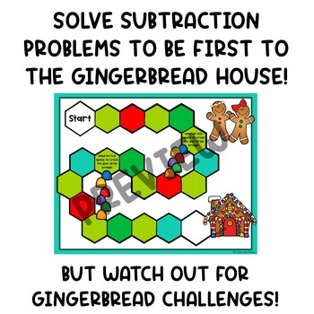 Subtraction with Regrouping Math Centers Game