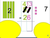 Subtraction with Regrouping Narrated, Animated  Powerpoint MOVIE