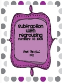 Subtraction with Regrouping {Numbers to 1000--2nd Grade Common Core}