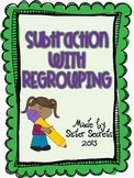 Subtraction with Regrouping {Numbers to 1000--2nd grade CCSS}