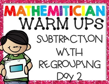 Subtraction with Regrouping - PPT introduction presentation