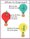 Subtraction with Regrouping Poem: Poster and Activity