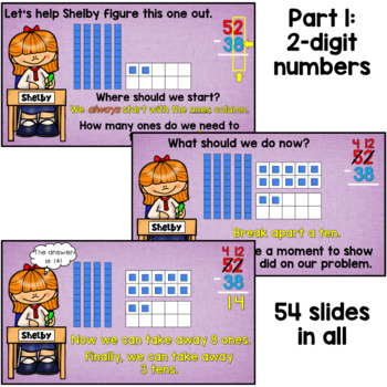 Subtraction with Regrouping PowerPoint