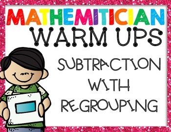 Subtraction with Regrouping: Powerpoint Introduction Presentation