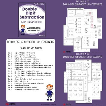 Subtraction with Regrouping, Practice Worksheets on Subtracting With Regrouping