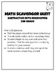 Subtraction with Regrouping SCAVENGER HUNT