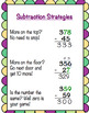 Subtraction with Regrouping Student Notes and Poem