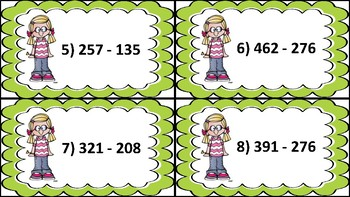 Subtraction with Regrouping Using Exploding Dots