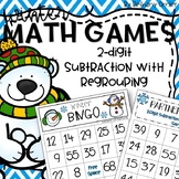 Subtraction with Regrouping Winter Math Games
