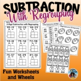 Subtraction with Regrouping Worksheets Fun Set