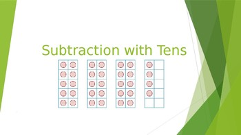 Subtraction with Tens