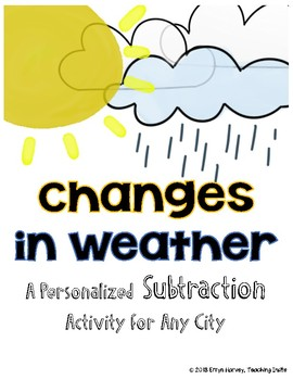 Subtraction with Weather