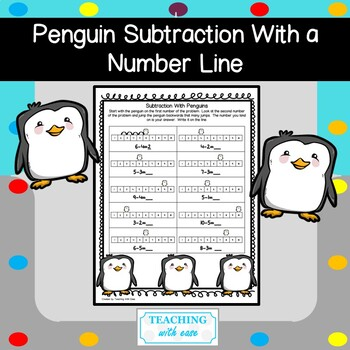Subtraction with a Penguin Number Line