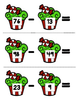 Subtraction with and without Regrouping
