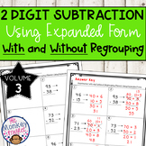 2 Digit Subtraction With and Without Regrouping