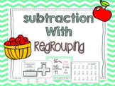 Subtraction with regrouping {2 and 3 digit}