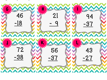 Subtraction {with regrouping}