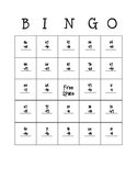 Subtraction (with regrouping) Bingo