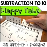 Subtraction within 10 - Flappy Tabs Subtraction Practice