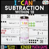 Kindergarten Subtraction within 10 Game