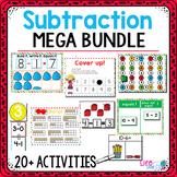 Subtraction within 10 | Kindergarten Math Centers