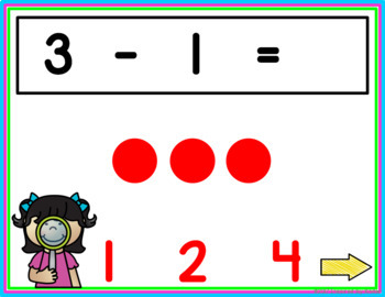 Subtraction within 10 {Interactive Game}