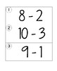 Subtraction within 10 Write the Room