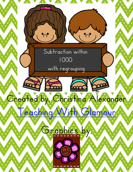 Subtraction within 1000 with regrouping